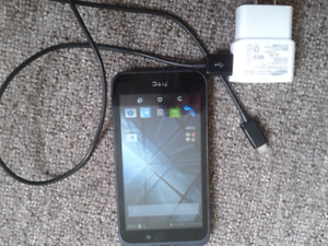 HTC desire 320 like new with charger