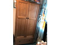 IKEA wardrobe and chest of drawers/ baby changing station FREE!!!
