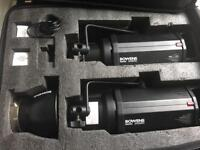 Bowens Gemini 500 Pro lighting kit with extras