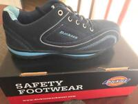 Ladies safety trainers size 6