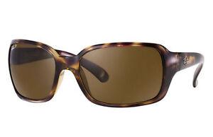 Ray-Ban RB4068 Tortoise, Brown Lenses