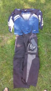 Quadding pants and shirt