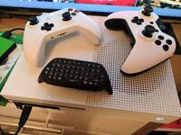 Xbox one s scuf controller + games