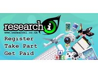 Paid Market Research Opportunities - £40+ per hour