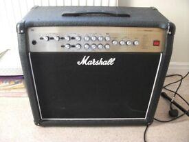 100 watt marshall advanced valvestate technology guitar amp