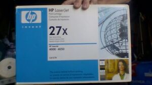 HP Laserjet 27x Toner  Cartridge