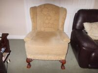 Wing chair very good condition
