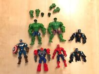 Avengers and transformer mashers