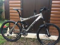 Merida am 400 full suspension mountain bike