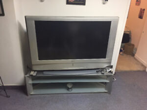 """55"""" TV with TV Stand"""