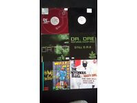 6 hip hop vinyls £30