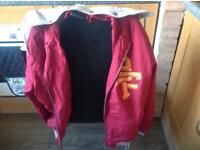 Box fresh varsity jacket