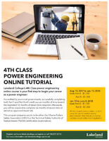 Online 4th Class Power Engineering