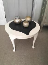 White shabby chick coffee table