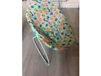 Baby bouncer Bright stars £5