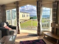 3 BEDROOM LUXURY STATIC CARAVAN FOR SALE , BEACH ACCESS , 12 MONTH PARK , NORTH EAST COAST ,SEA VIEW