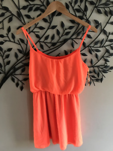 Size 2/4 Orange Dress