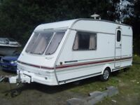 1996 SWIFT CHALLENGER CARAVAN CLEAN INSIDE 2 BERTH CHEAP TO CLEAR NO OFFERS