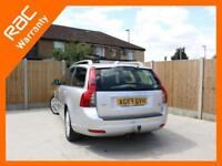2010 Volvo V50 1.6 D Turbo Diesel DRIVe SE LUX 5 Speed Estate Sunroof Full Leath