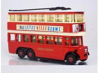 TWO LONDON TRANSPORT MODEL TROLLEYBUSES