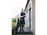 Bagpiper/Piper for hire - All occasions