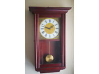 Acctim Battery Powered Pendulum Wall Clock