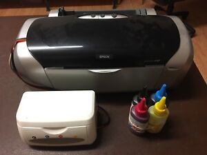 epson sublimation printer and accessories