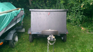 Small enclosed trailer (3x5)