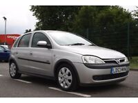 2003 Vauxhall Corsa 1.2 i 16v SXi 5dr MANUAL, LOW MILES, SPORT, WARRANTY, PX WELCOME