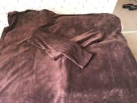 Brown snuggle cover