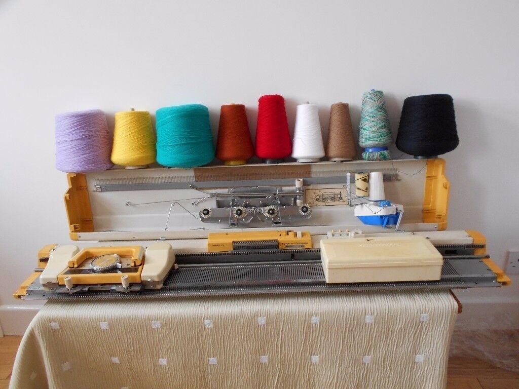 Empisal Knitting Machine model 321 Plus Extras   in Poole, Dorset ...