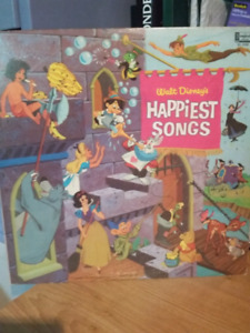 Vinyl Happiest songs de Disney