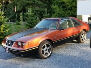 '84 Mustang GT 5 speed T Top