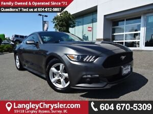 2015 Ford Mustang V6 W/BLUETOOTH & HEATED STEERING