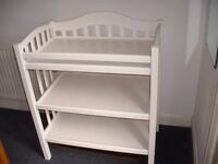 Baby changing unit 3 tier