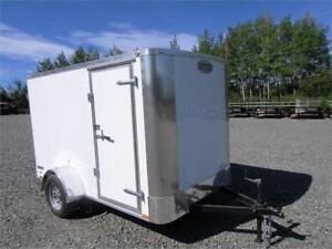 SINGLE AXLE 6 FT X 10 FT ENCLOSED