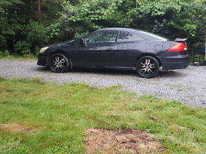 TRADE: 2006 Honda Accord coupe on 20s