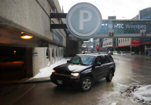 Looking for parking in William parkade HSC