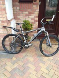 Trek Fuel EX9 mountain bike,model hardly used