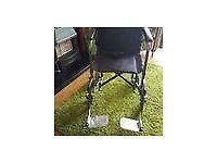 Light Weight Nearly New Folding Wheelchair
