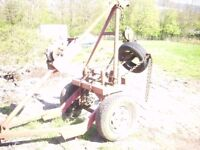 harvey frost towing crane