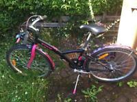 "Girls bike 24"" BTWIN Poply 500"