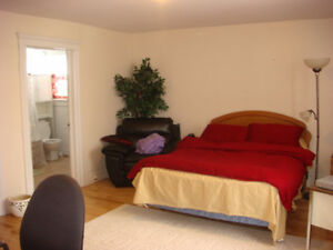 One bedroom apartment near the University of Windsor