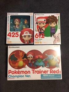 Nendoroid GSC Nintendo Pokemon Red Green Champion Figure Center