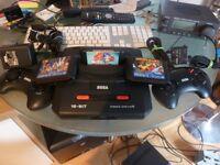 Sega Mega Drive 2 PAL with 3 Games (Unboxed)