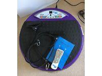 Vibrapower vibration plate