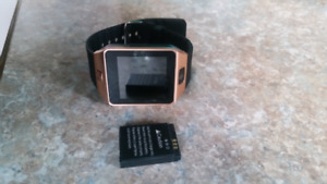 Android Smart watch with extra battery.