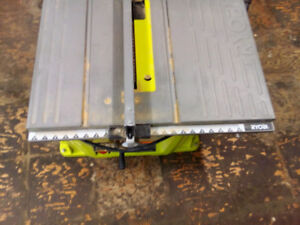 """Ryobi table saw 10"""" Good condition. Please no emails or trades."""