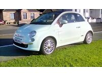FIAT 500,LOUNGE REDUCED £7900 NOW £6950,65 REG ONLY 12000 MILES,