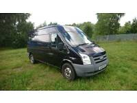 2009 MK7 2.4 RWD TRANSIT. 6 SEATER., AIR CON, ELECTRIC WINDOWS IN BLACK LONG MOT GOOD CONDITION